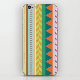 tribal man iPhone Skin