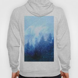 The forest awakens from the mist Hoody