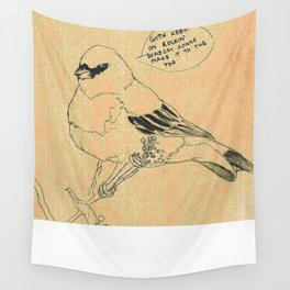 Classic Rock Bird Wall Tapestry