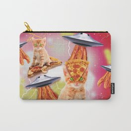 alien cats and the ufos Carry-All Pouch