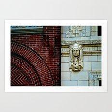 The Bricks & The Chief Art Print