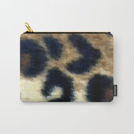 Exotic Spotted Leopard Print  Carry-All Pouch