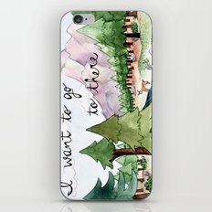 I Want To Go To There iPhone & iPod Skin