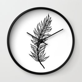 Ferns of a Feather Flock Together, I Wall Clock