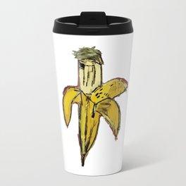 Basquiat Dinosaur Banana Travel Mug