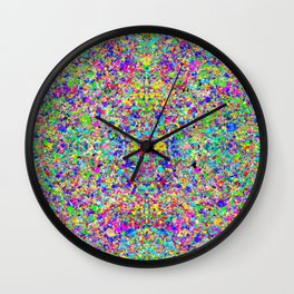 Cosmic Static Wall Clock