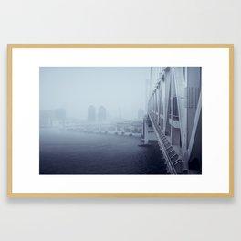 Rainbow Bridge - West Framed Art Print