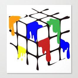 Rubix Cube? Canvas Print