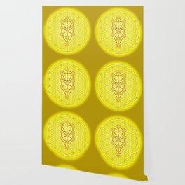Flower of Life - Solar Plexus Wallpaper