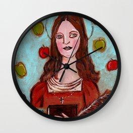 Catherine of Alexandria Wall Clock