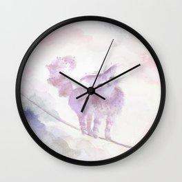 Varo Tiptoe Sky Wall Clock