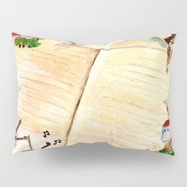 Books and imagination Pillow Sham