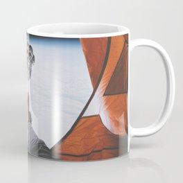 Camping in space Coffee Mug