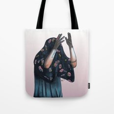Floral Ghost Tote Bag