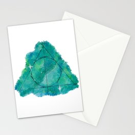 Deathly Splatter Stationery Cards