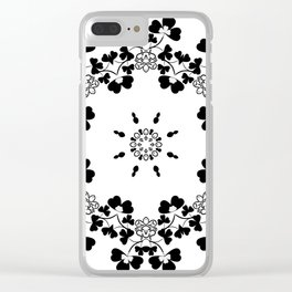 Flower ornament 19 Clear iPhone Case