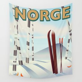 Norge Wall Tapestry