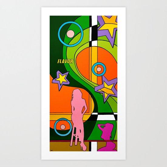 """FLAVOR"" Art Print"