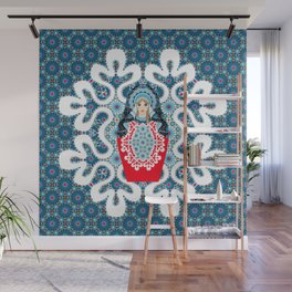 Little Matryoshka Wall Mural