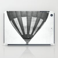 hot air balloon iPad Cases featuring Hot Air Balloon by Rose Etiennette