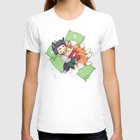 sterek T-shirts featuring Bonus Sleepy Sterek Spin-Off by MGNemesi