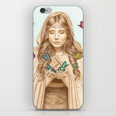 The Butterfly Girl iPhone & iPod Skin