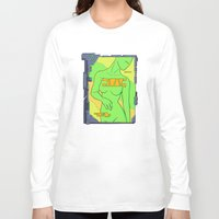 android Long Sleeve T-shirts featuring Android Advertising by Jagged-Snail Design
