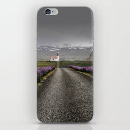 Church and nature iPhone Skin