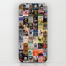Springsteen Concert Posters iPhone Skin