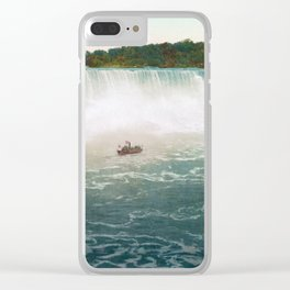 American Falls from Canada - Vintage Niagara - 1898 Clear iPhone Case