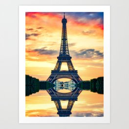 Eiffel-tower Art Print