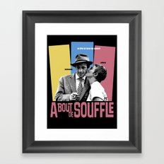 A Bout de Souffle Framed Art Print