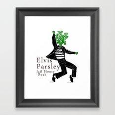 Elvis Parsley Framed Art Print