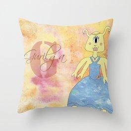 Princess Gurilga (Princess Monsters A to Z) Throw Pillow