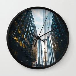 London airplans Wall Clock