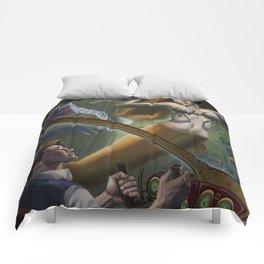 Steampunk Little Mermaid Comforters