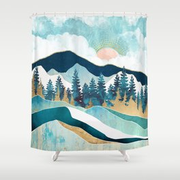 Summer Forest Shower Curtain