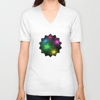 carnival V-neck T-shirts featuring Carnival by Alexander Studio