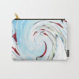 """Cardinal Wave"" Carry-All Pouch"