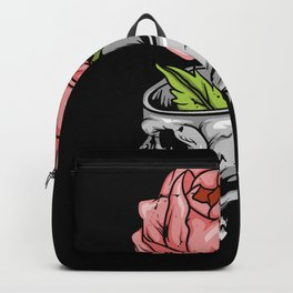 Skull and Roses Backpack