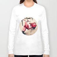 vespa Long Sleeve T-shirts featuring vespa by iokk
