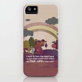 Small village 2 iPhone Case