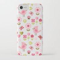 karu kara iPhone & iPod Cases featuring JARDIN DE L'AMOUR by Daisy Beatrice