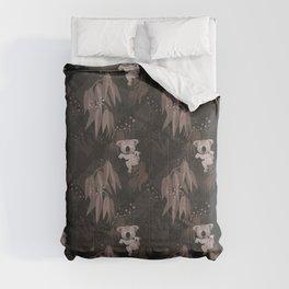 Koalas in the dark Forest – animal illustration for children Comforters