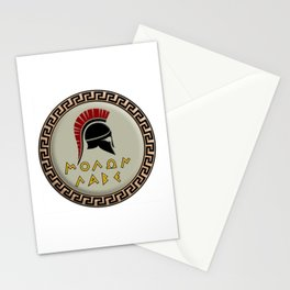 Molon Labe Spartan Stationery Cards