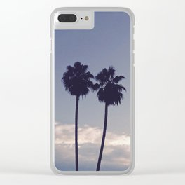 'Palms, Holding Hands' Clear iPhone Case