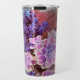 Succulent Garden View Travel Mug