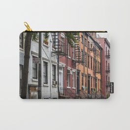 Picturesque street view in Greenwich Village, New York Carry-All Pouch