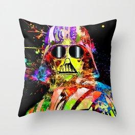 Darth SW Show Throw Pillow