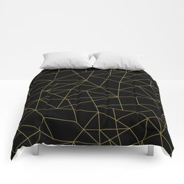 Geometric Pattern XI Comforters